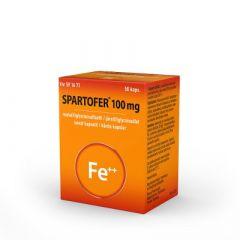 SPARTOFER 100 mg kaps, kova 50 fol