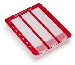 Dosett Mini Punainen 80x100x18 1 kpl