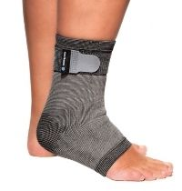 Rehband Active Ankle Support Grey M 1 kpl